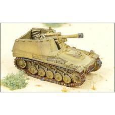 GHQ Models 1/285 Немецкая лёгкая САУ  Sd.Kfz. 124 Wespe. № GHQ_G117a