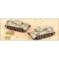 GHQ Models 1/285 Английский лёгкий пехотный танк Valentine Mk III / XI. № GHQ_UK25a