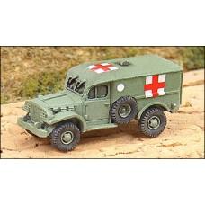 GHQ Models 1/285 Американский медицинский автомобиль WC-54 Dodge. № GHQ_US84a