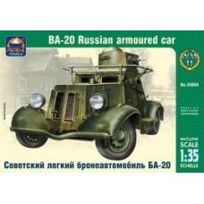 Ark models 1/35 Советский лёгкий бронеавтомобиль БА-20. № 35004