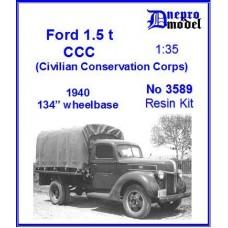 Dnepromodel 1/35 Американский грузовик Ford 1,5 ton truck (1940). № DNM_3589