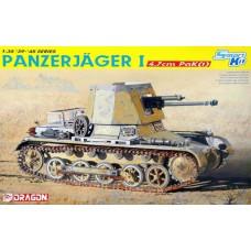 Dragon 1/35 Немецкая противотанковая САУ Panzerjager I (с орудием 4,7см PaK (t)). № 6230