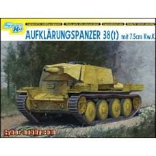Cyber Hobby 1/35 Немецкий разведывательный танк поддержки Aufklarungspanzer 38 (t) mit 7,5cm KwK. № CYB_6310