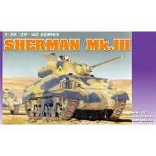 Dragon 1/35 Американский средний танк Sherman MkIII. № 6313