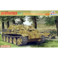 Dragon 1/35 Немецкая САУ Jagdpanther Ausf.G1 Early Production (Zimmerit Edition). № DRA_6494