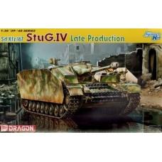 Dragon 1/35 Немецкая самоходная артиллерийская установка StuG IV (поздний вариант). № DRA_6612