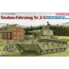 Dragon 1/35 Немецкий тяжелый танк Neubau-Fahrzeug Nr.3-5. 6690