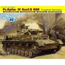 Dragon 1/35 Немецкий средний танк Pz IV Ausf.D DAK (вариант для тропиков). № 6779