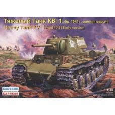 Eastern Express 1/35 Советский тяжёлый танк КВ-1, обр. 1941 ранняя версия. № EES_35084
