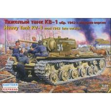 Eastern Express 1/35 Советский тяжёлый танк КВ-1, обр. 1942 поздняя версия. № EES_35086