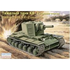 Eastern Express 1/35 Советский тяжёлый танк КВ-2, поздняя версия. № EES_35090