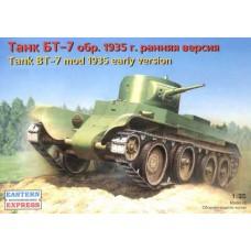 Eastern Express 1/35 Советский лёгкий танк БТ-7, обр.1935 ранняя версия. № EES_35108