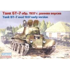 Eastern Express 1/35 Советский лёгкий танк БТ-7, обр.1937 ранняя версия. № EES_35111