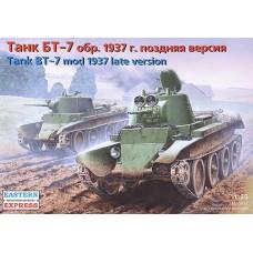 Eastern Express 1/35 Советский лёгкий танк БТ-7 образца 1937 года (поздняя версия). № EES_35112