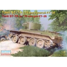 Eastern Express 1/35 Советский лёгкий танк БТ-7а с 76-мм пушкой КТ-28. № EES_35114