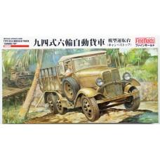 "Fine Molds 1/35 Японский трёхосный грузовик ""Type 94"" (кабина с тентом). № FMS_FM31"