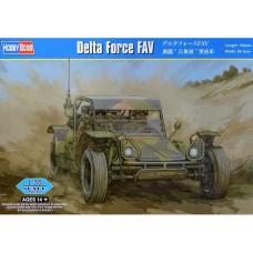 Hobby Boss 1/35 Американский армейский багги Delta Force FAV. № 82406