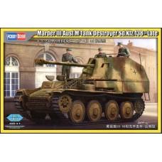 Hobby Boss 1/35 Немецкая противотанковая САУ Marder III Ausf.M Sd.Kfz.138 - Поздний вариант. № HOB_80168