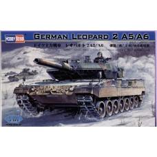 Hobby Boss 1/35 Немецкий основной боевой танк Leopard 2 A5/A6. № 82402