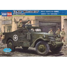 "Hobby Boss 1/35 Американский бронеавтомобиль M3A1 ""White Scout Car"" Late Production. № HOB_82452"