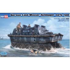 Hobby Boss 1/35 Немецкий транспортный тягач-амфибия (Land-Wasser-Schlepper (LWS). № 82465