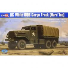 Hobby Boss 1/35 Американский грузовик US White 666 Cargo (Hard Top). № 83801