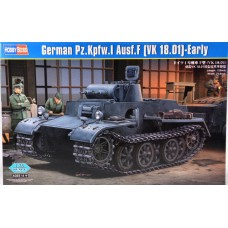 Hobby Boss 1/35 Немецкий лёгкий танк Pzkpfw.I Ausf.F (VK1801), раняя версия. № 83804