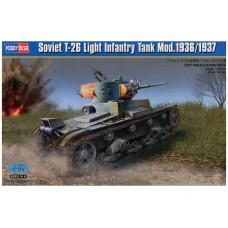 Hobby Boss 1/35 Советский лёгкий пехотный танк Т-26 (модификации 1936/1937). № 83810