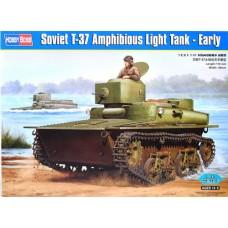 Hobby Boss 1/35 Советский плавающий лёгкий танк Т-37 (ранний вариант). № 83818