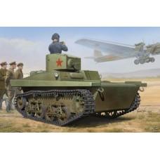 Hobby Boss 1/35 Советский плавающий лёгкий танк Т-37А. № 83821