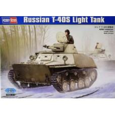 Hobby Boss 1/35 Советский плавающий лёгкий танк Т-40С. № 83826