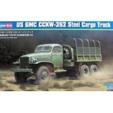 Hobby Boss 1/35 Американский грузовик US GMC CCKW-352 (стальная кабина). № 83831