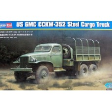 Hobby Boss 1/35 Американский грузовик US GMC CCKW-352 (стальная кабина). № HOB_83831