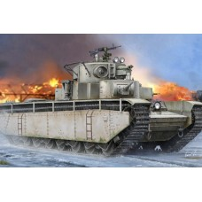 Hobby Boss 1/35 Советский пятибашенный тяжёлый танк Т-35 (до 1938 года). № 83842