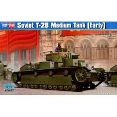 Hobby Boss 1/35 Советский трёхбашенный средний танк Т-28. № 83851