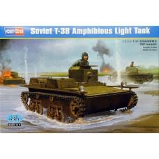 Hobby Boss 1/35 Советский малый плавающий танк Т-38. № 83865