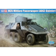 Hobby Boss 1/35 Немецкий бронетранспортёр M35 Mittlere Panzerwagen (ADGZ-Daimler). № 83889