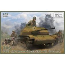 IBG Models 1/35 Польская разведывательная танкетка TKS с 20-мм орудием. № IBG_35046