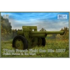 IBG Models 1/35 Французское полевое орудие 75mm Mle 1897, Польская армия. № 35057