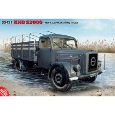 ICM 1/35 Немецкий армейский грузовой автомобиль KHD S3000. № 35451