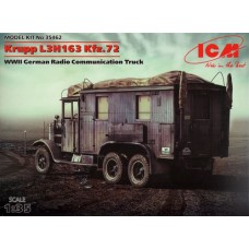 ICM 1/35 Немецкий автомобиль радиосвязи Krupp L3H163 Kfz.72. № 35462