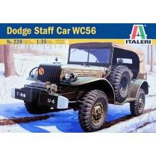 Italeri 1/35 Американский автомобиль Dodge Staff Car WC56. № 228