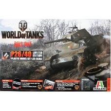 Italeri 1/35 Итальянский тяжёлый танк Carro Armato Pesante P26/40 (World of Tanks). № 36515