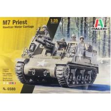 "Italeri 1/35 Американская 105-мм самоходная гаубица M7 ""Priest"". № 6580"