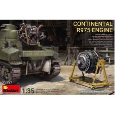 MiniArt 1/35 Двигатель Continental R975. № 35321