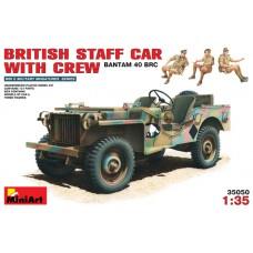 MiniArt 1/35 Британская командирская машина Bantam 40 BRC с экипажем. № MIA_35050