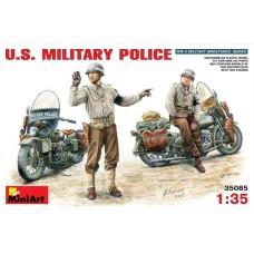 MiniArt 1/35 Американская военная полиция на мотоциклах. № MIA_35085