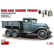 MiniArt 1/35 Советский грузовик Газ-ААА c немецкими солдатами. № 35127