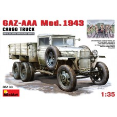 MiniArt 1/35 Советский грузовой автомобиль Газ-ААА Модификации 1943 г. № 35133