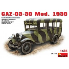 MiniArt 1/35 Советский автобус малого класса ГАЗ-03-30 модель 1938 года. № 35149
